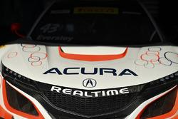 Auto #43 RealTime Racing, Acura NSX GT3: Ryan Eversley