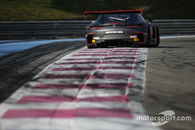 #84 Mercedes-AMG Team HTP Motorsport, Mercedes-AMG GT3: Maximilian Buhk, Dominik Baumann, Frank Perera, Fabian Schiller, Jimmy Eriksson