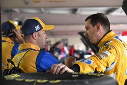 Adam Stevens, Kyle Busch, Joe Gibbs Racing Toyota