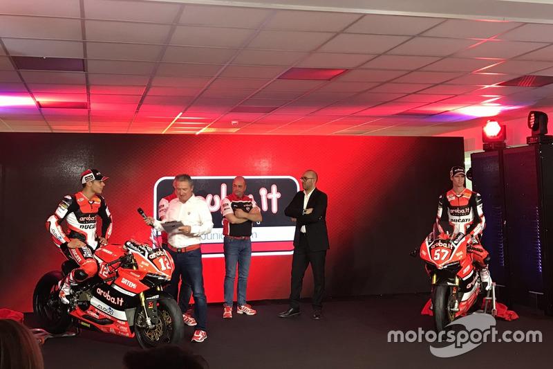 Michael Rin y Mike Jones, Ducati Team
