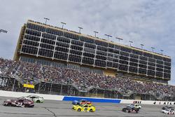 Gray Gaulding, BK Racing, Toyota; Corey LaJoie, BK Racing, Toyota