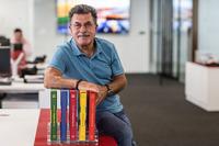 Rainer W. Schlegelmilch en las oficinas de Motorsport Network
