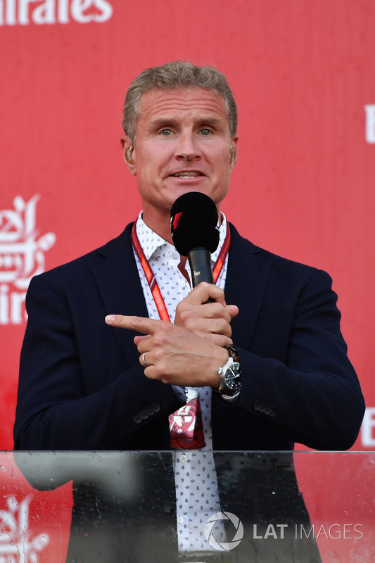 David Coulthard, Channel Four TV