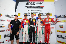 Podium: 1. Artem Petrov, Van Amersfoort Racing, 2. Marcus Armstrong, Prema Powerteam, 3. Juri Vips, Prema Powerteam, Mick Wishofer, Lechner Racing