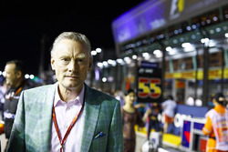 Sean Bratches, responsable commercial Formula One Group