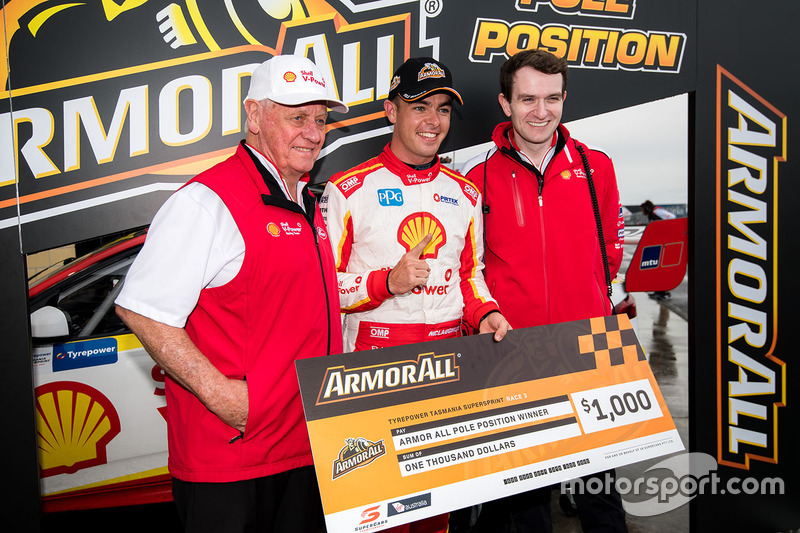 Polesitter: Scott McLaughlin, Team Penske, Ford, mit Ryan Story