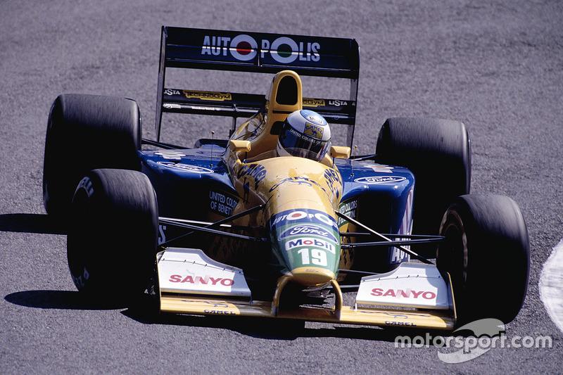 1991: Benetton B191