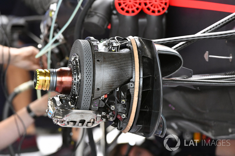 Red Bull RB13: Bremsscheibe