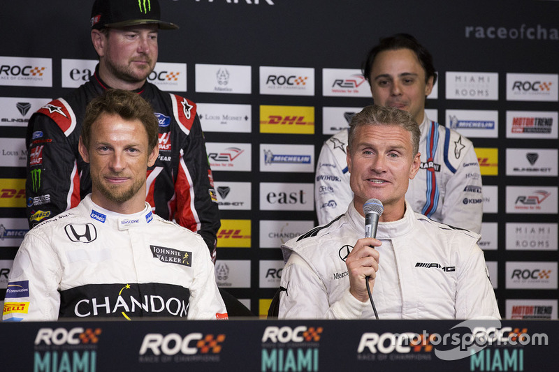 David Coulthard, Jenson Button