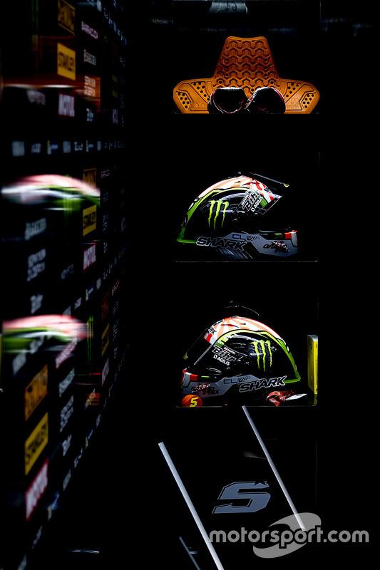 Helme von Johann Zarco, Monster Yamaha Tech 3