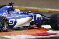 Ausritt: Marcus Ericsson, Sauber C36