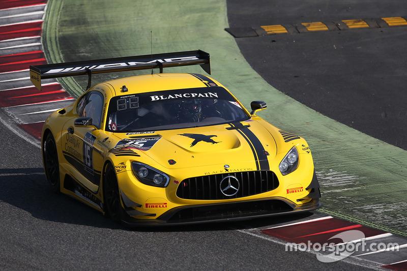 #15 Black Falcon Mercedes AMG GT3: Доре Хапонік, Бретт Зандберг, Скотт Екерт