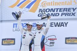 GTLM podium: winners John Edwards, Martin Tomczyk, BMW Team RLL