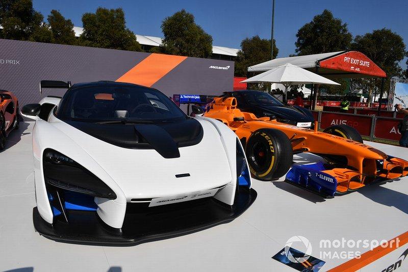 Automobili McLaren all'Albert Park