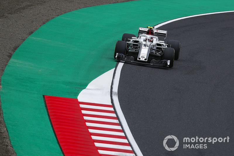 Ausfall: Charles Leclerc, Sauber C37