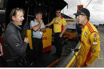 Ryan Hunter-Reay, Andretti Autosport Honda, Eric Bretzman