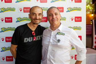 Claudio Domenicali, AD Ducati e Riccardo Marcante, Direttore generale di Mirabilandia