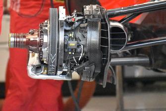 تفاصيل مكابح سيارة فيراري اس.اف71اتش