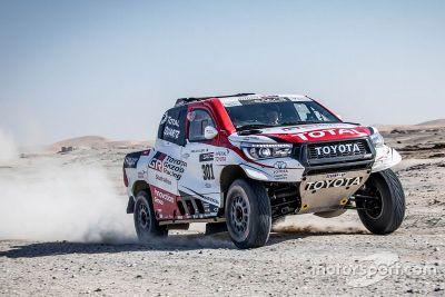 Fernando Alonso Toyota test Namibië