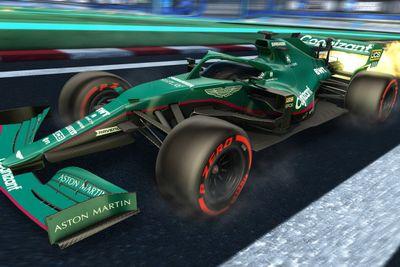 Livrea F1 di Rocket League