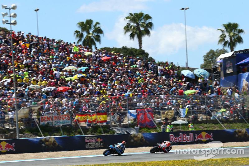 Scott Redding, Pramac Racing and Tito Rabat, Marc VDS Racing Honda