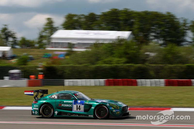 #14 Black Falcon Mercedes-AMG GT3: Abdulaziz Al Faisal, Gerwin, Indy Dontje, Rob Huff