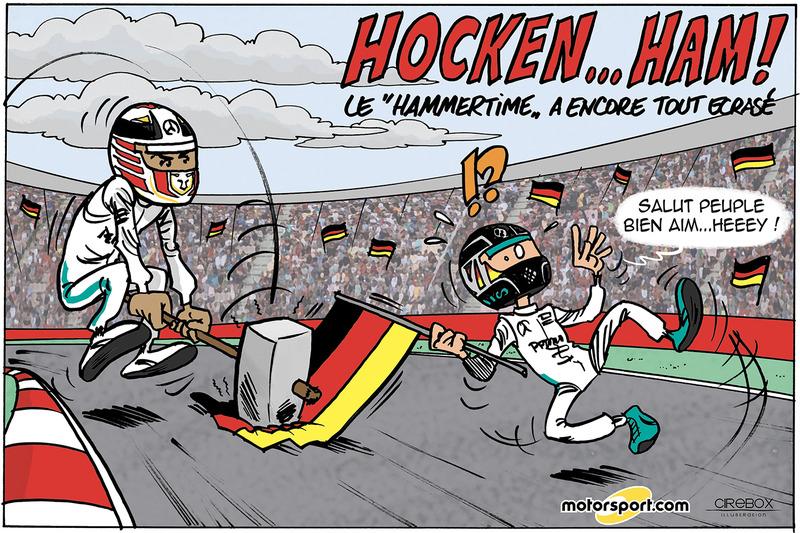 GP d'Allemagne - Hocken... HAM !