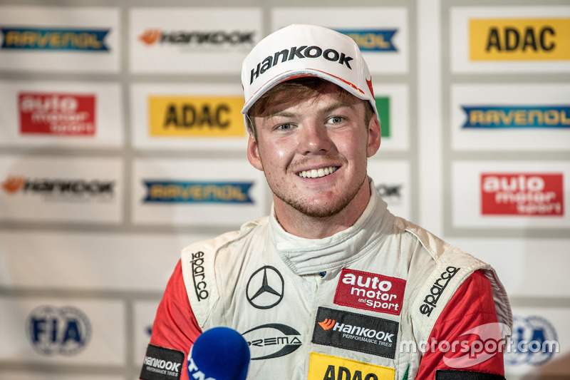 Nick Cassidy, Prema Powerteam Dallara F312 - Mercedes-Benz