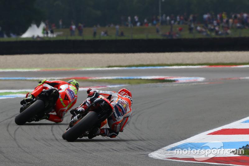 Andrea Iannone, Ducati Team e Marc Marquez, Repsol Honda Team