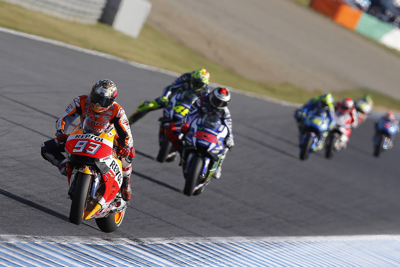 Marc Márquez, Repsol Honda Team, Jorge Lorenzo, Yamaha Factory Racing, Valentino Rossi, Yamaha Factory Racing