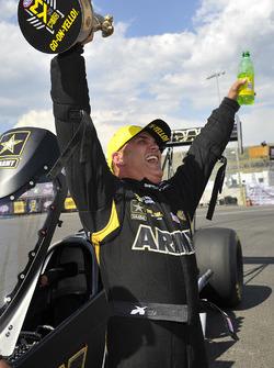 Top Fuel winner Tony Schumacher