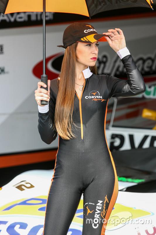 Hot grid girl Argentina Corven at Concepción II