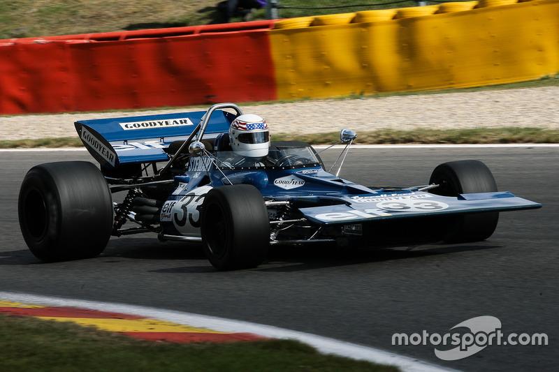 #33 Tyrrell 001 (1970): John Delane at Masters Historic: Spa-Francorchamps