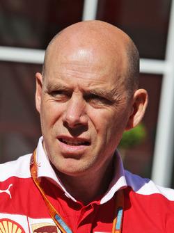 Джок Клиа, гоночный директор Ferrari