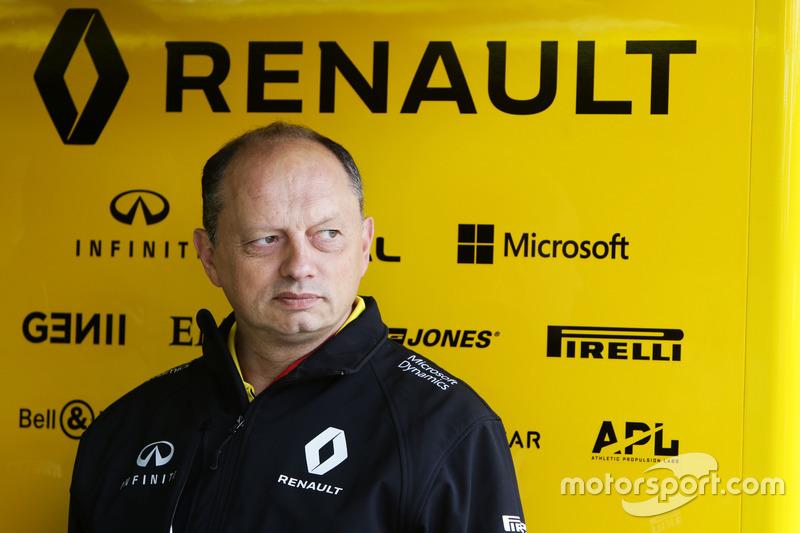 Фредерик Вассер, гоночный директор Renault Sport F1