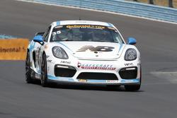 #35 CJ Wilson Racing Porsche Cayman GT4: Tyler McQuarrie, Tilt Bechtolscheimer