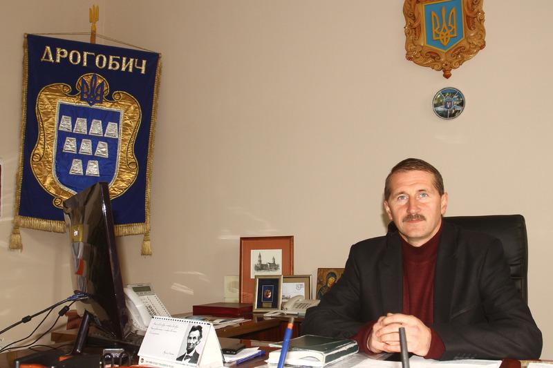 Міський голова Дрогобича Тарас Кучма