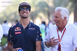 Daniel Ricciardo, Red Bull Racing with Bob Constanduros, Journalist and Circuit Commentator