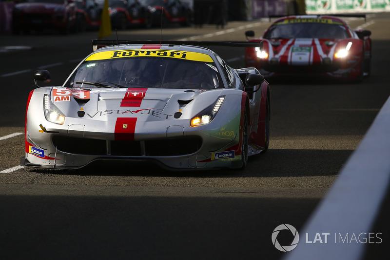 Джанкарло Фізікелла: #54 Spirit of Race Ferrari 488 GTE