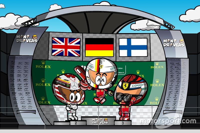 El GP de Australia de Fórmula 1 2018, por MiniDrivers