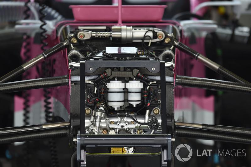 Détails du châssis de la Force India VJM11