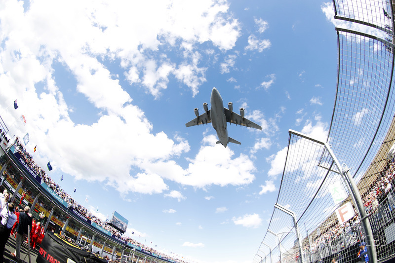 A flypass over the grid