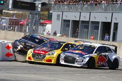 Mattias Ekström, EKS Audi Sport, Kevin Hansen, Team Peugeot Total, Guerlain Chicherit, GC Competition