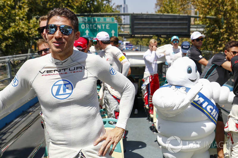 Edoardo Mortara, Venturi Formula E Team on the drivers parade