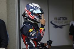El hombre de la pole Sebastian Vettel, Red Bull Racing RB7