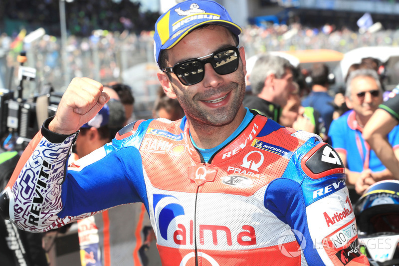 Il terzo qualificato Danilo Petrucci, Pramac Racing