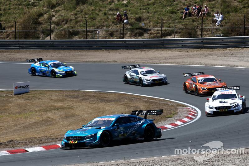 Гері Паффет, Mercedes-AMG Team HWA, Mercedes-AMG C63 DTM leads