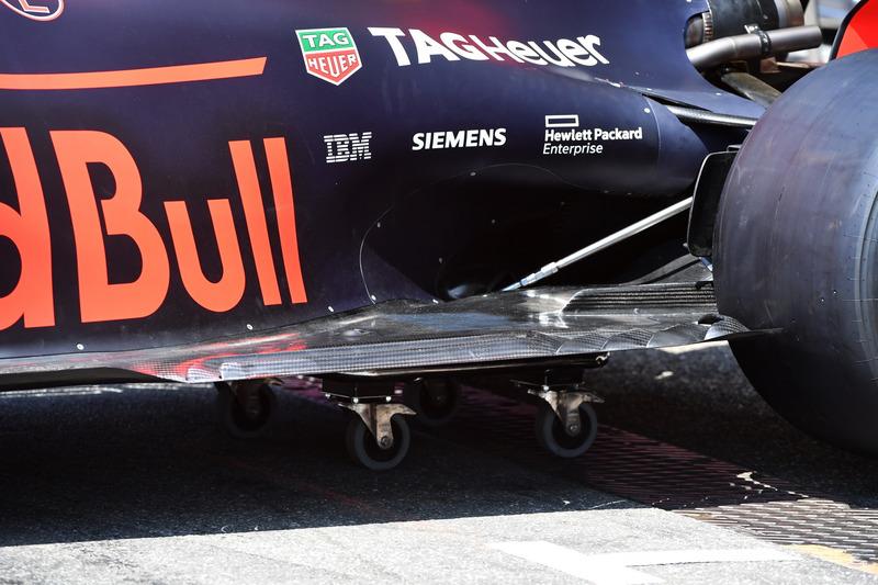 Днище Red Bull Racing RB14