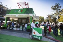 Puesto de venta Heineken
