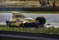 Unfallauto von Martin Donnelly, Team Lotus